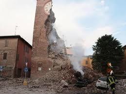 Terremoto: il sollevamento dell'area è arrivato a 15 centimetri