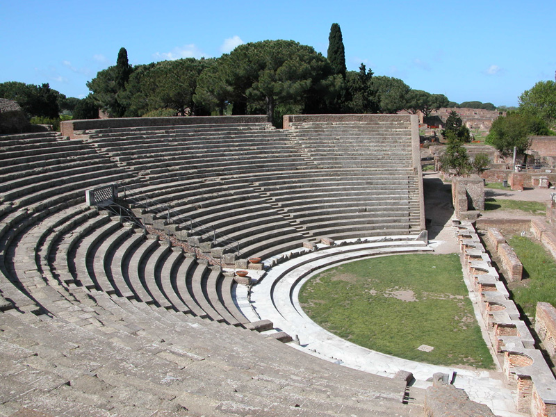 Photo of Il teatro di Ostia Antica restituito alla classicità