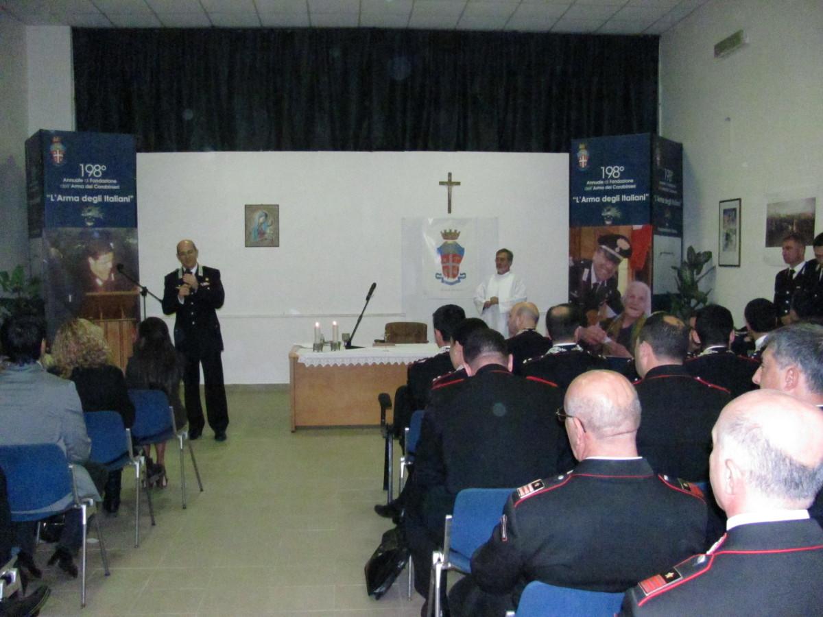 """Photo of Il Gruppo Carabinieri Roma celebra la """"Virgo Fidelis"""""""
