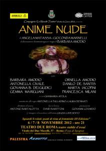 """Photo of Grande debutto di Barbara Amodio  al Teatro Due con """"Anime nude"""""""