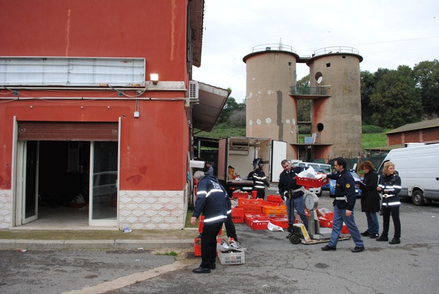 Photo of La Polizia di Stato e Polizia Roma Capitale Sequestrano 1800 kg di merce alimentare avariata