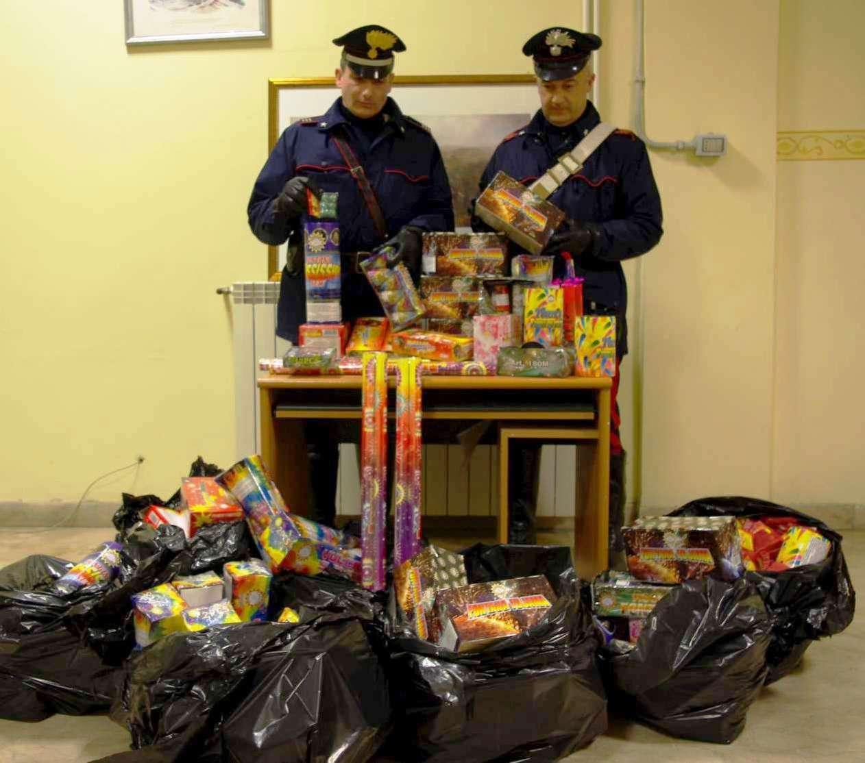 Photo of Botti di fine anno – 1.400 kg sequestrati, un arresto e 6 persone denunciate da parte dei Carabinieri – Suggerimenti dei Carabinieri