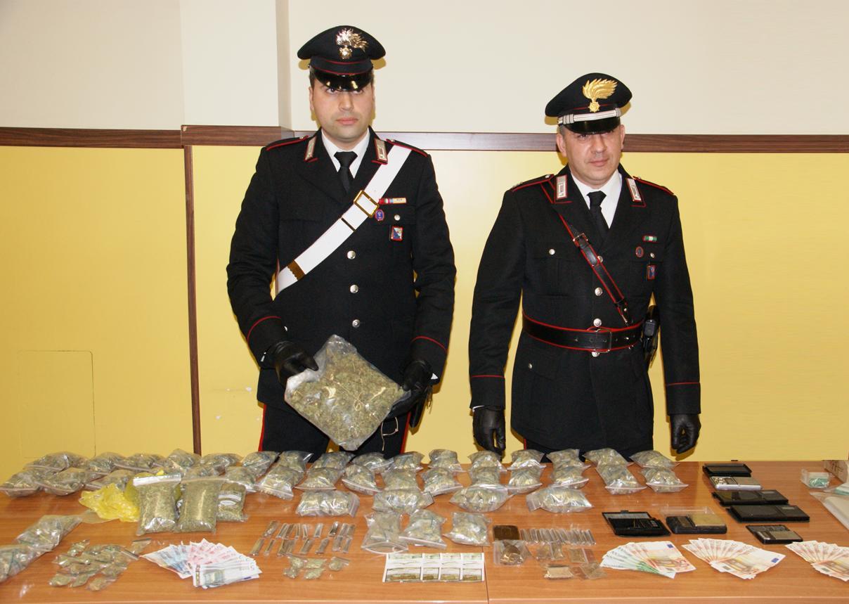"""Photo of Aveva solo  venti anni ma era già un  """"grossista"""" della droga, l'uomo arrestato dai Carabinieri a Tiburtino"""
