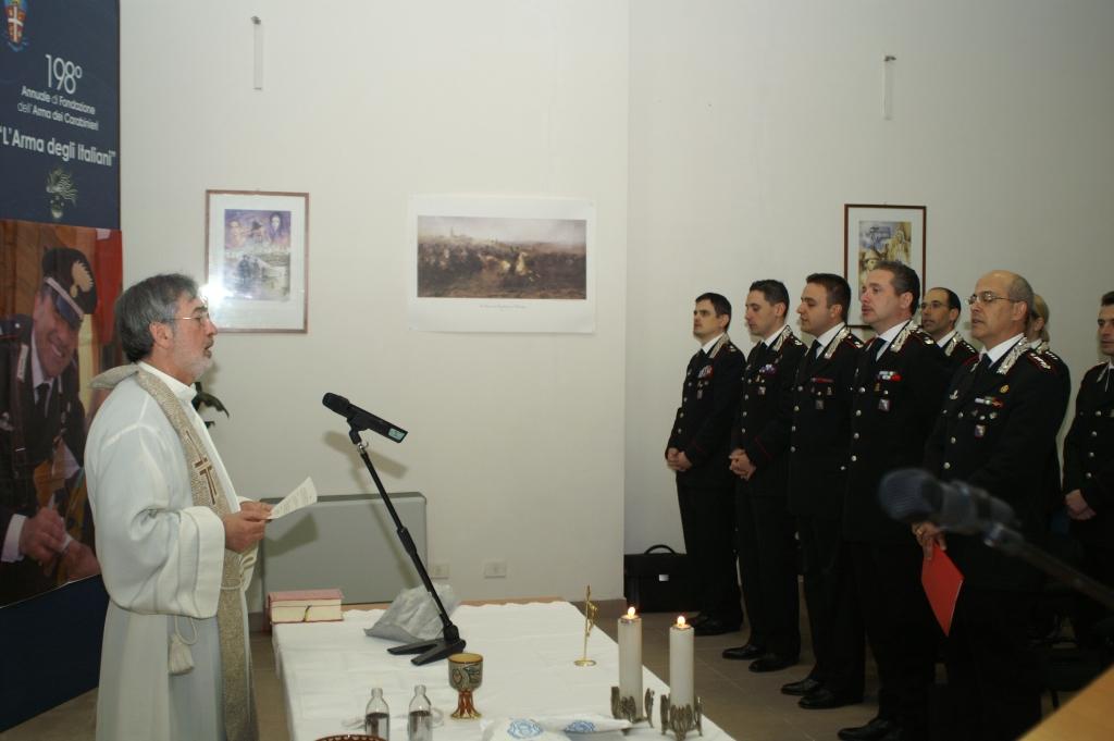 Photo of Tutti insieme, i  Carabinieri del Gruppo Roma, celebrano  la preparazione per la S. Pasqua