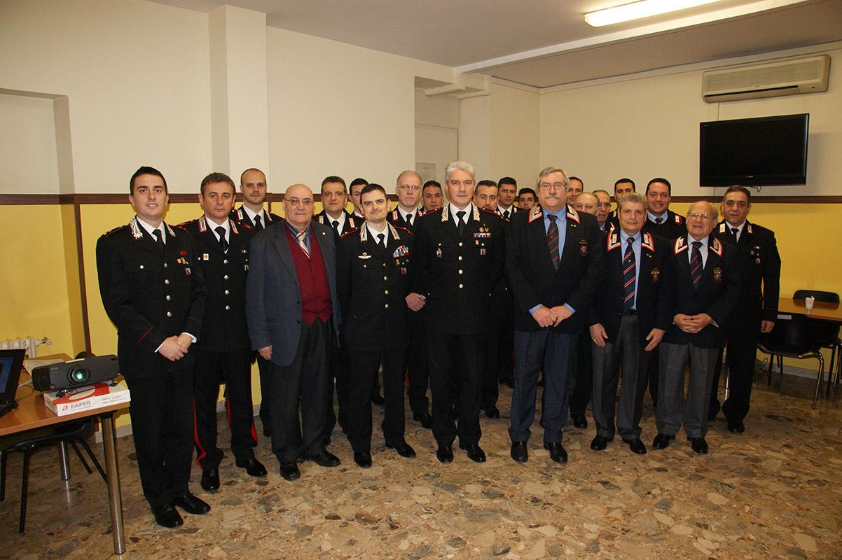 Photo of Il Comandante Provinciale dei Carabinieri di Roma in visita alla Compagnia di Montesacro