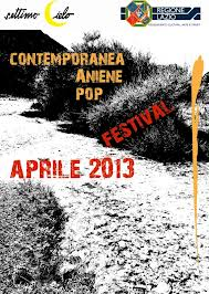 Photo of Contemporanea Aniene Pop Festival dal 7 al 28 aprile – Valle dell'Aniene