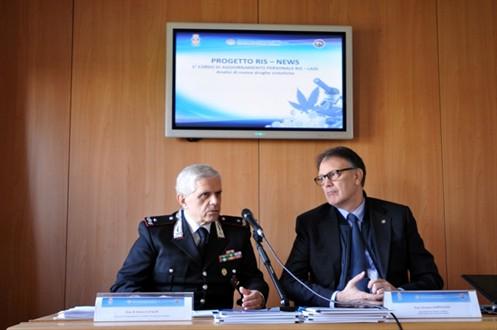 Gen.B Enrico Cataldi ed il Dott. Serpelloni