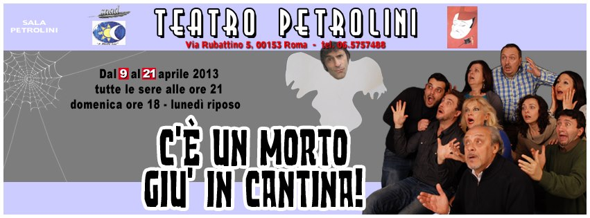 "Photo of ""C'è un morto giù in cantina"" al teatro Petrolini"