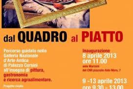 Photo of Dal quadro al piatto : dipinti da gustare, a Roma
