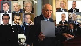 Giorgio Napolitano ed i dicei saggi