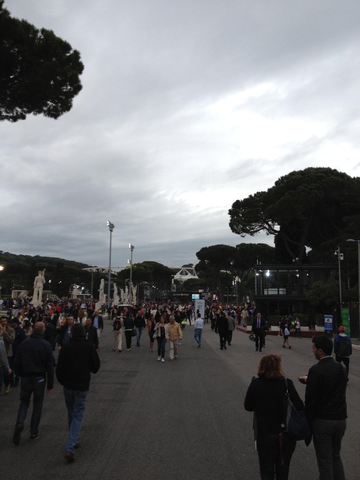 Photo of Foro Italico: per Fognini troppo forte Nadal, il torneo si avvia verso gli ottavi!