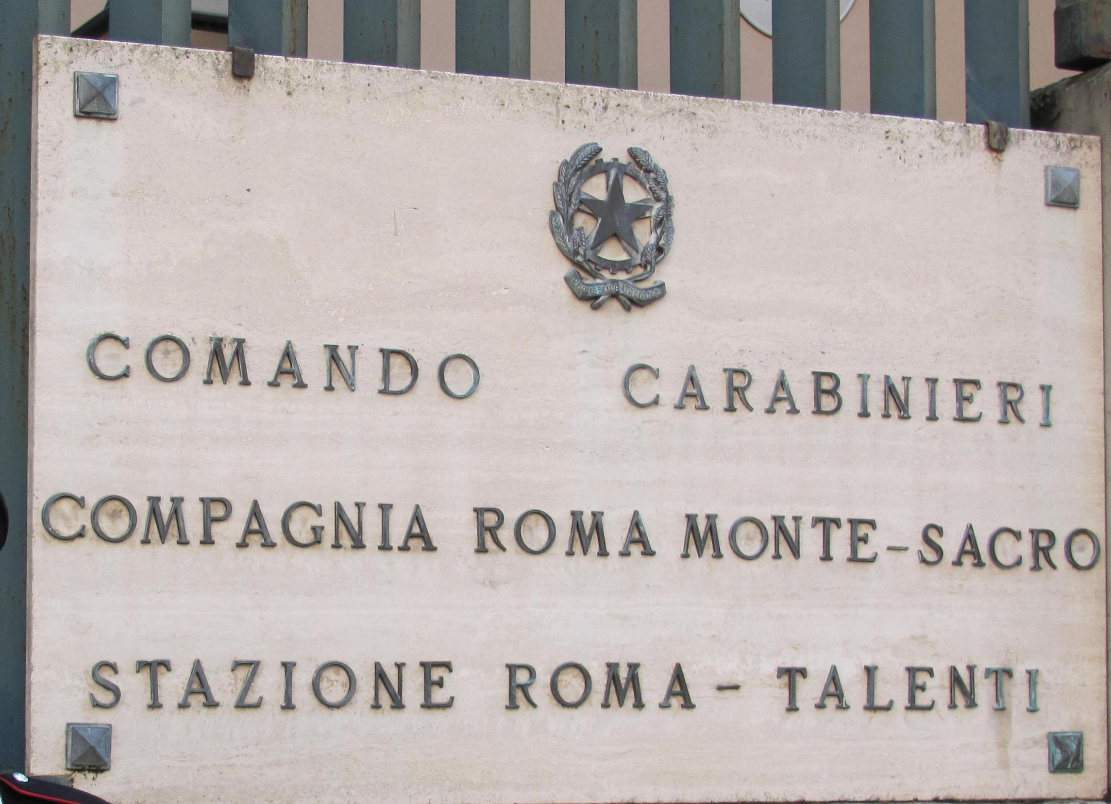 Compagnia Carabinieri Montesacro
