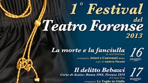 Photo of Al Golden il 1° Festival del teatro Forense!
