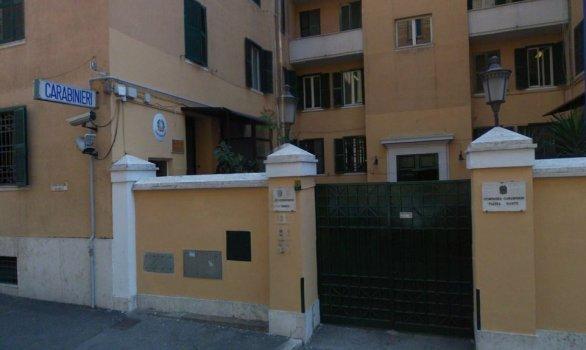 Carabinieri Roma Piazza Dante