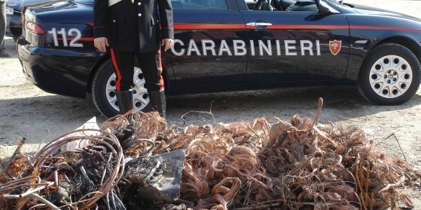 Photo of Lavori in corso per….furto di rame