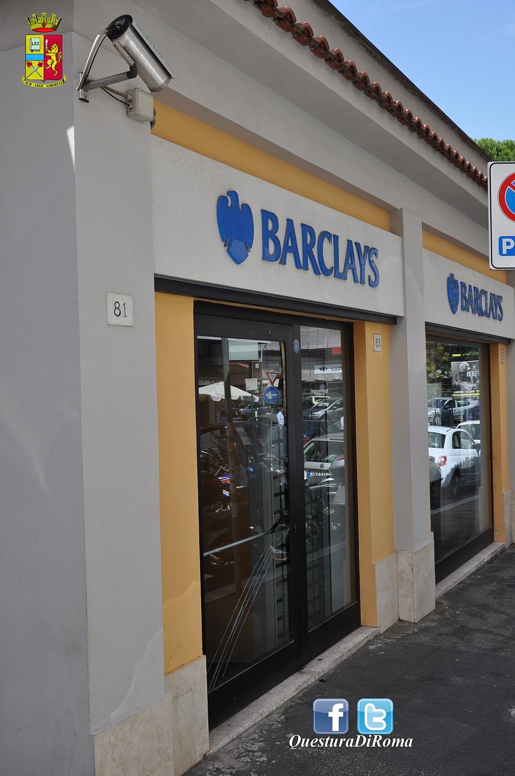 Photo of In tre, erano già penetrati all'interno della banca ma sono stati sorpresi. Arrestato un romano. Fuggiti gli altri due