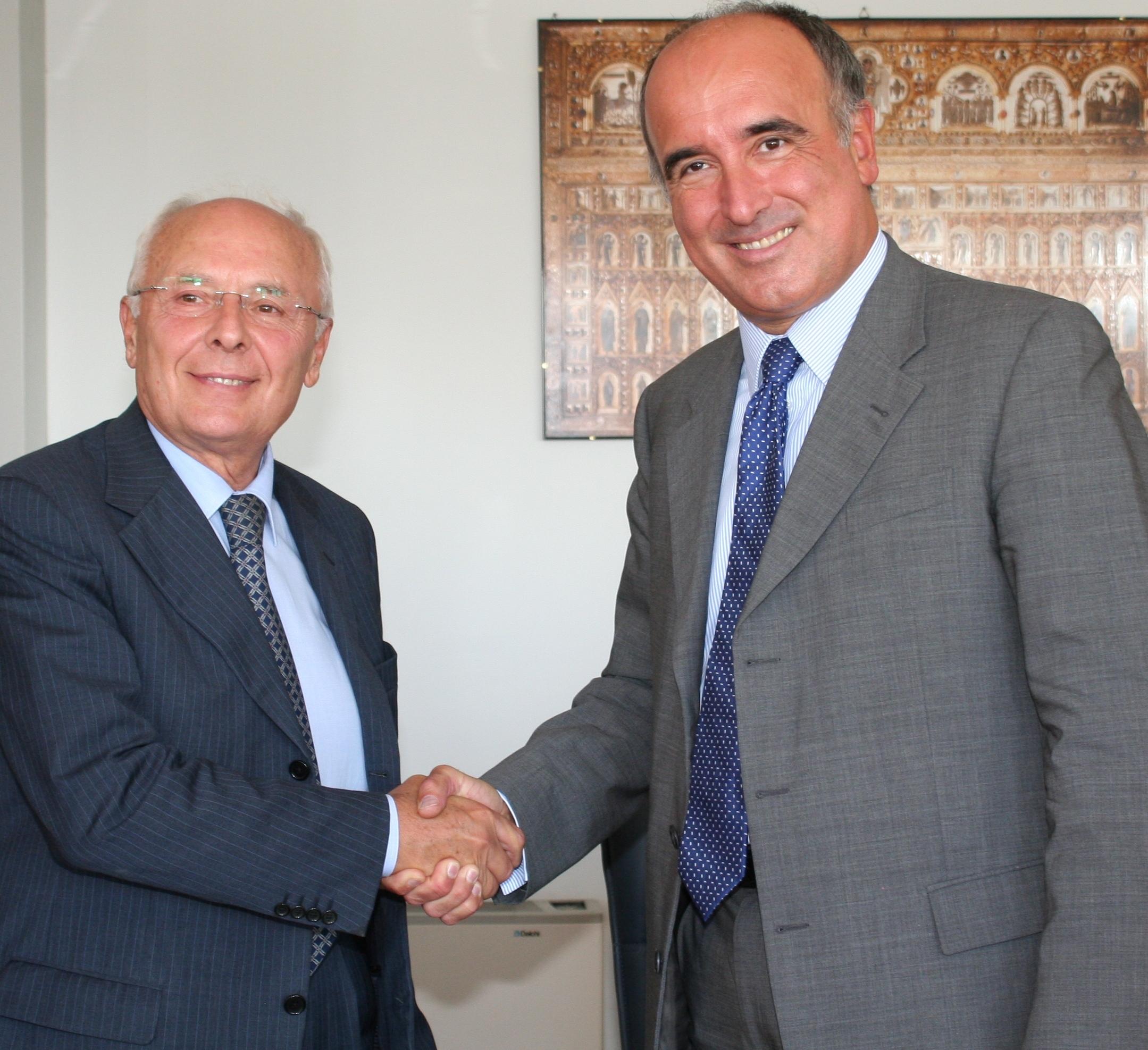 Giovanni Lelli e Sandro De Poli