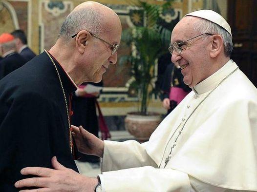 Papa Francesco e Cardinal Bertone