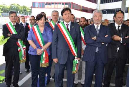 Inaugurazione Commissariato Colleferro