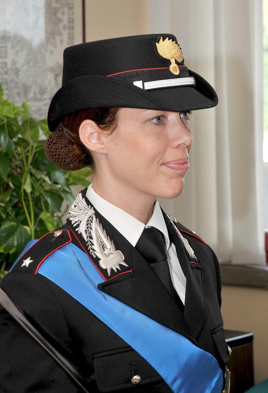 Photo of Il giuramento del S.Tenente Anna Schirinzi