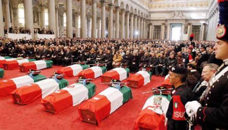 Funerali eroi Nassiriya