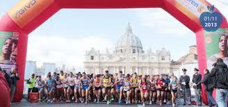 """Photo of 6^ Edizione della """"Corsa dei Santi"""".A Roma hanno corso in 5.500"""