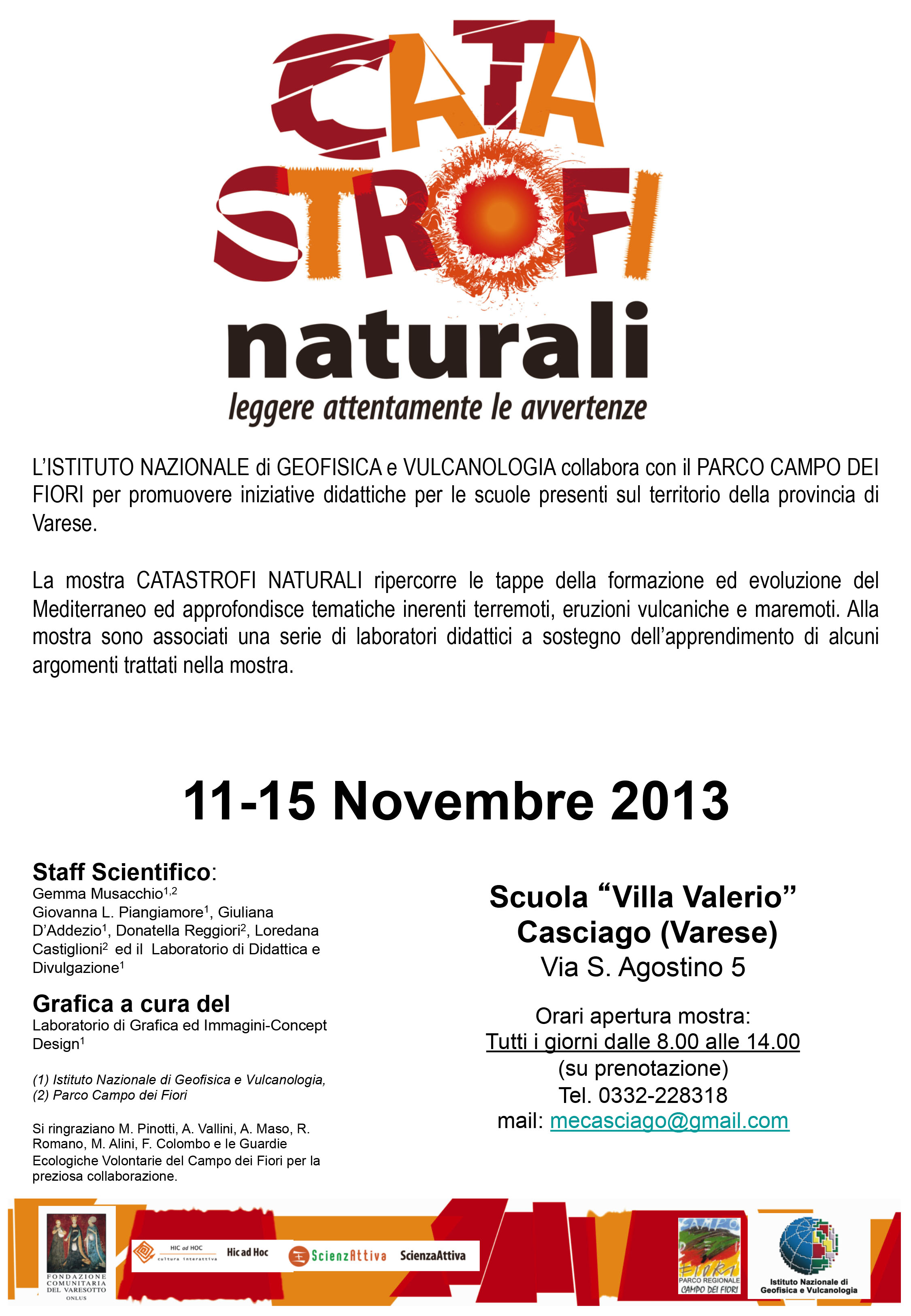 Photo of Mostra Catastrofi Naturali