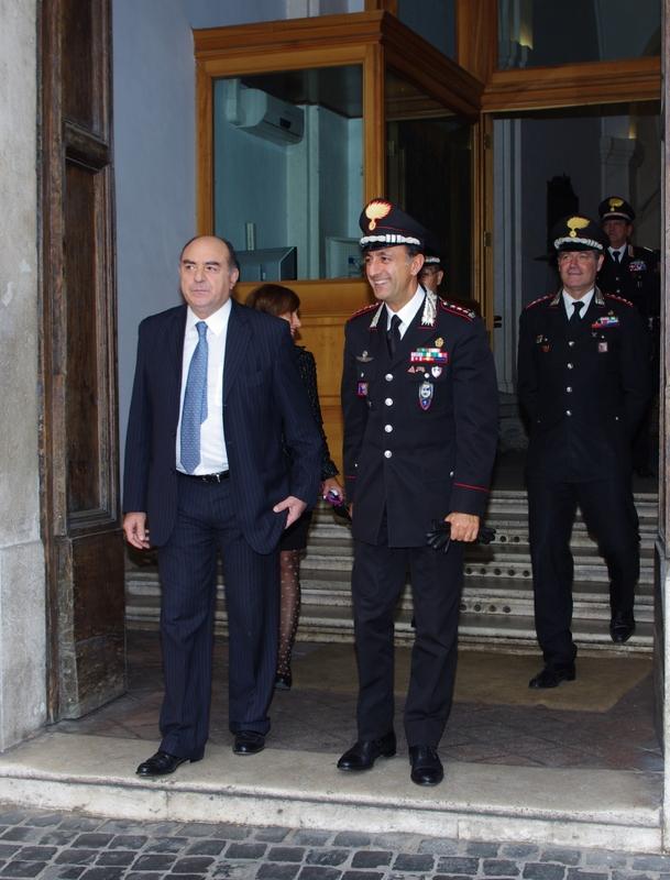 Photo of Il Prefetto di Roma in visita al Comando Provinciale dei Carabinieri della Capitale