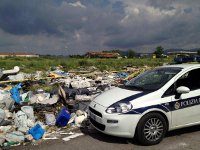 Photo of La Polizia Locale individua e sequestra una discarica abusiva accanto alla nuova Fiera di Roma