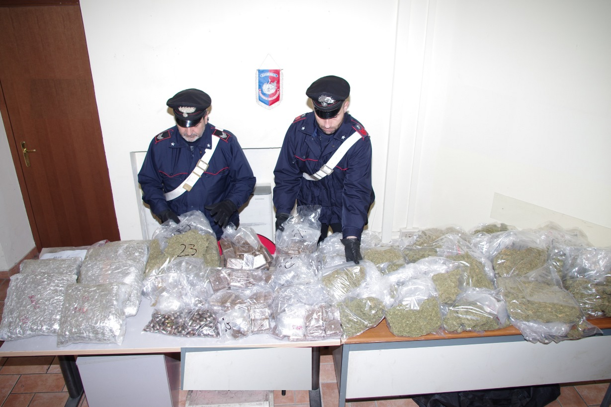 Photo of Sequestrati 70 kg di droga. Tre le persone arrestate