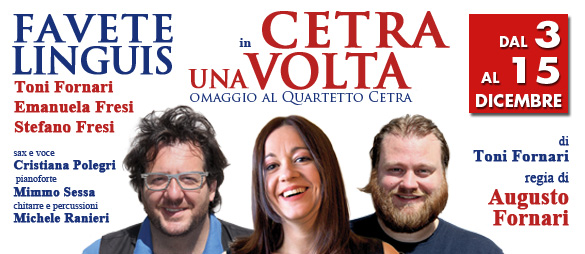 "Photo of ""Cetra una volta"" al Teatro Golden"