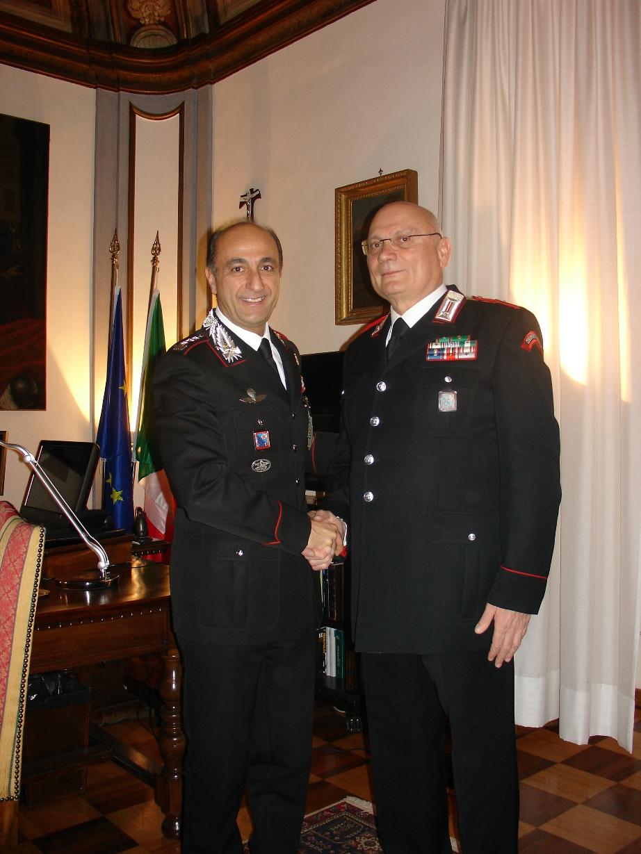 Photo of Il Luogotenente Giuseppe Soricelli, ha lasciato  il comando della Stazione Carabinieri di Via Vittorio Veneto