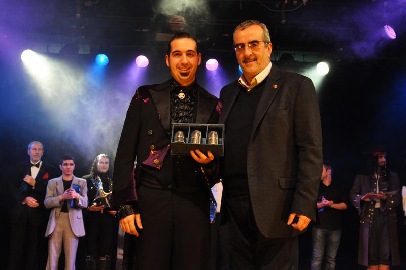 """Photo of Il mago Pablo vince il XXVII° Trofeo di Magia """"Arsenio 2013"""""""