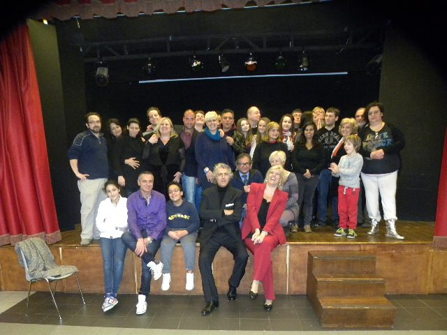 """Photo of Ospite d'onore in classe con il gruppo  """"Artisti si Nasce """" di Roberta Murzilli"""