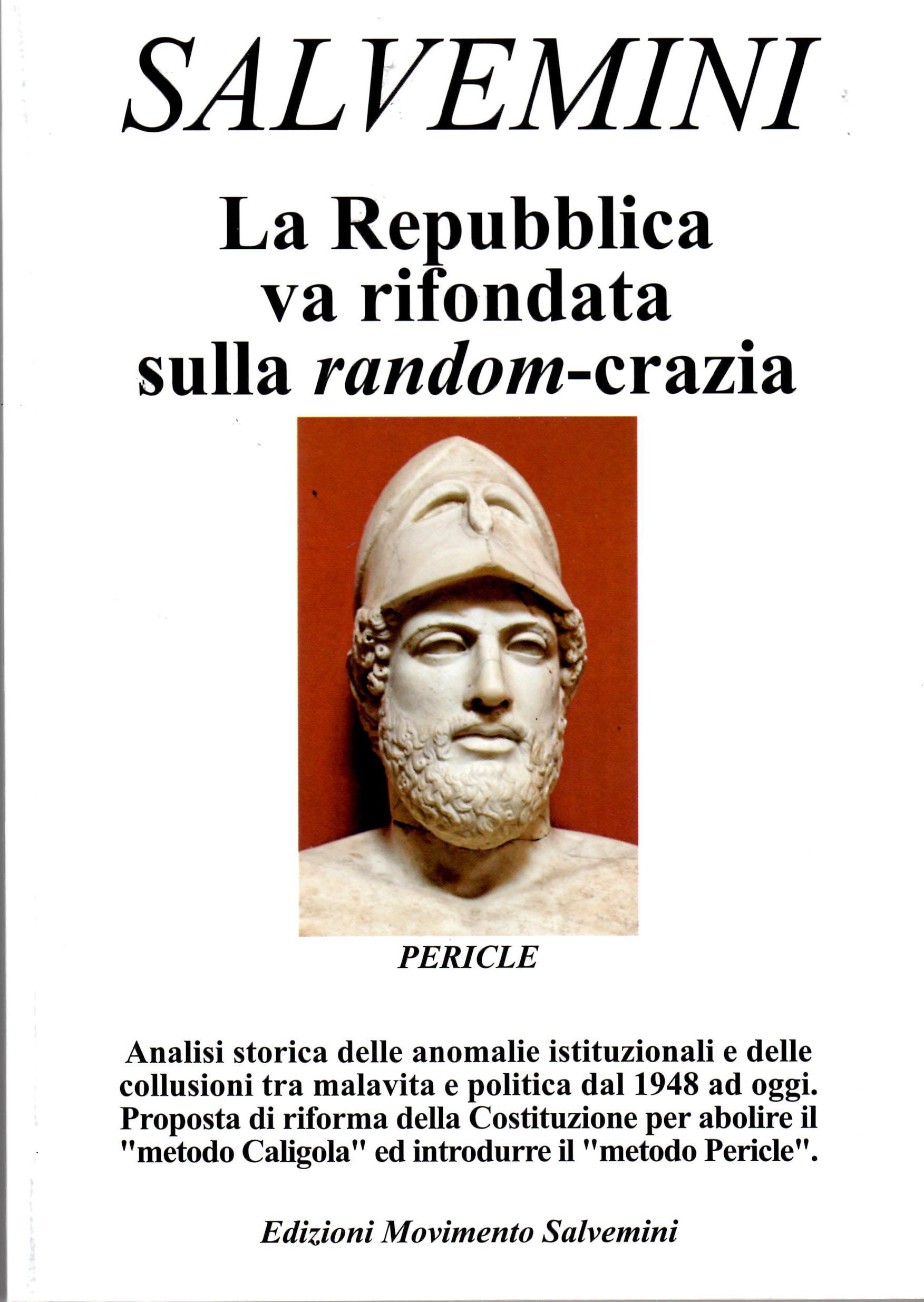 """Photo of """"La Repubblica va rifondata sulla random-crazia"""""""