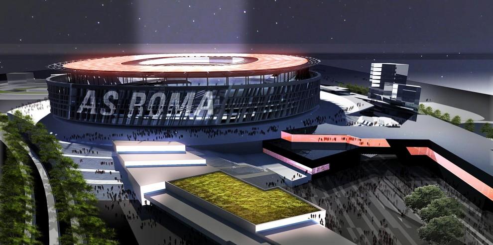 Photo of La tana dei lupi! Presentato il progetto dello stadio della Roma!
