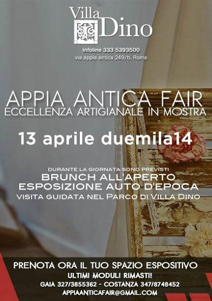 """Photo of Artigianato italiano, storia, cultura ed eleganza. Al via la prima edizione di """"APPIA ANTICA FAIR eccellenza Artigianale in Mostra"""""""