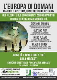 """Photo of """"L'Europa di domani.Tra euro e austerità, quale futuro per l'Italia?"""""""