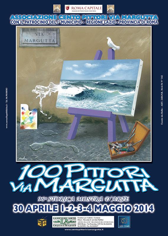 """Photo of """"Cento pittori via Margutta"""": tornano in strada gli artisti più famosi della capitale"""