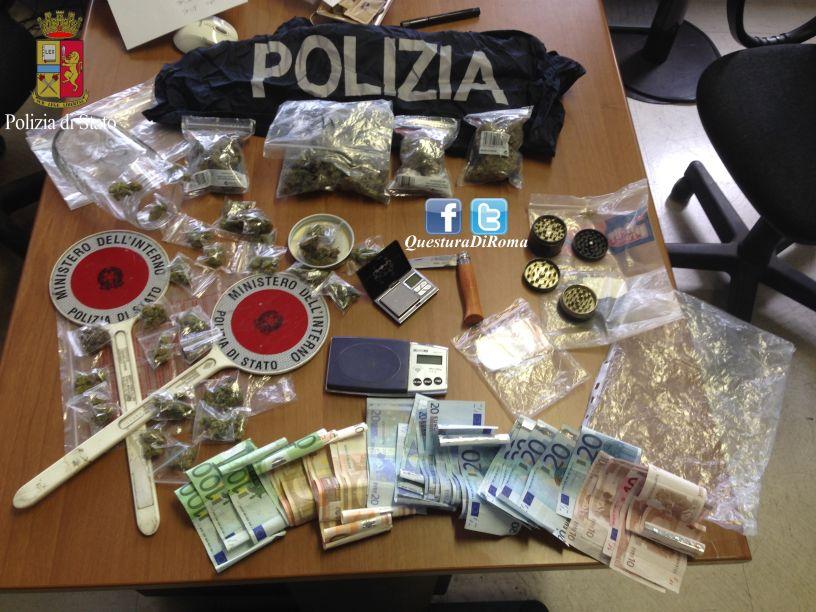 Photo of Base per lo spaccio di stupefacenti individuata nella zona di Valmelaina