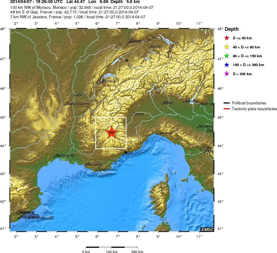 Photo of Due violente scosse di terremoto in Francia. Avvertite anche a Torino