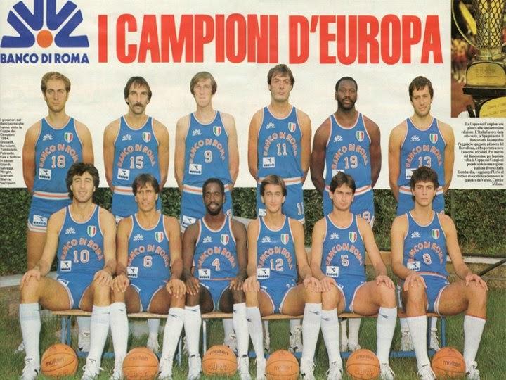 Photo of Basket: 30 anni fa il Bancoroma diventò Campione d'Europa
