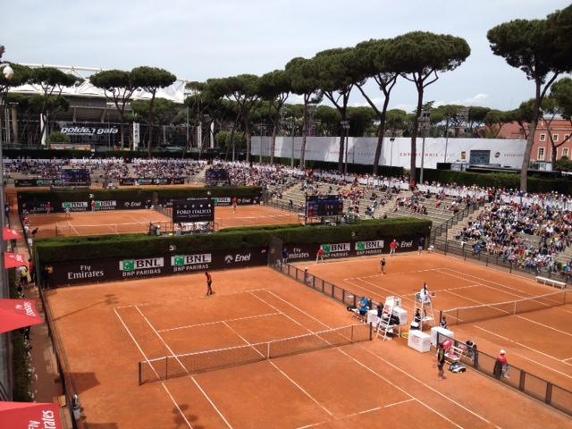 Photo of Agli internazionali d'Italia  di tennis, scendono in campo i big. Da ora si fa sul serio!