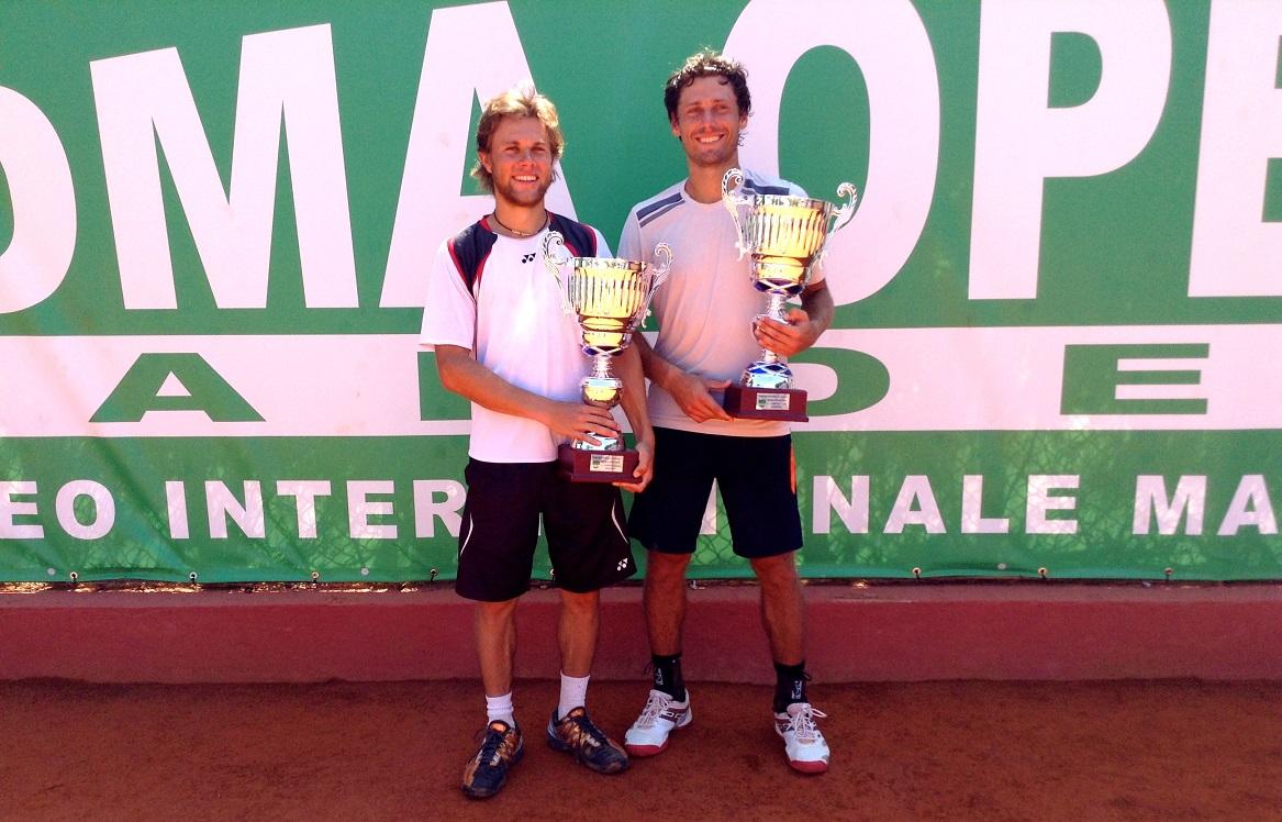 Photo of Tennis Garden Roma Open: il doppio è di Albot/Sitak
