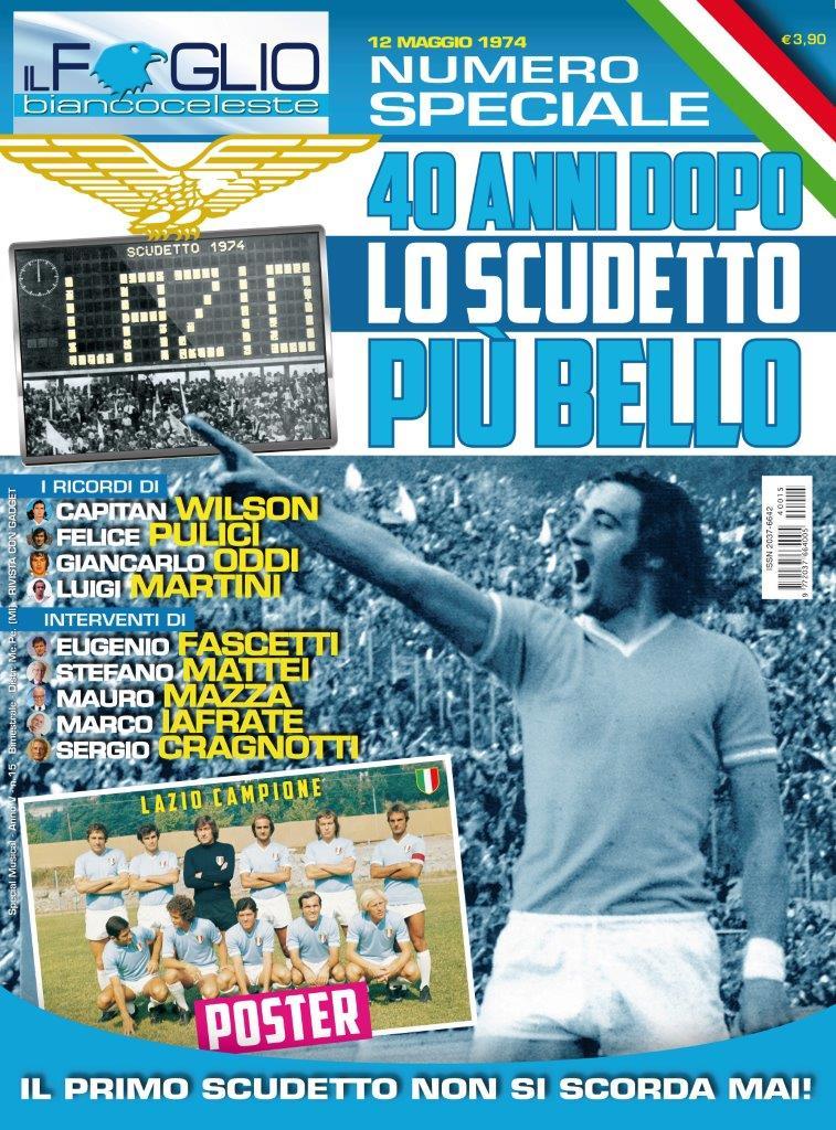 """Photo of """"Il Foglio Biancoceleste"""" celebra il 40° anniversario del primo scudetto della Lazio"""