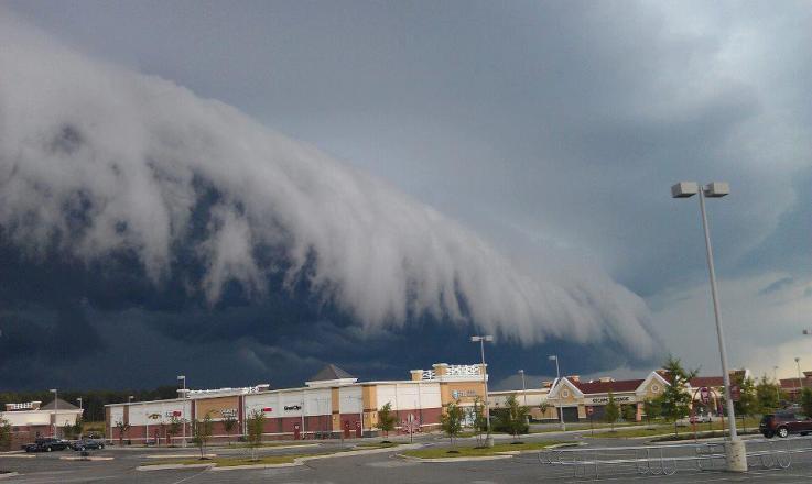 Photo of Tsunami nei cieli della California