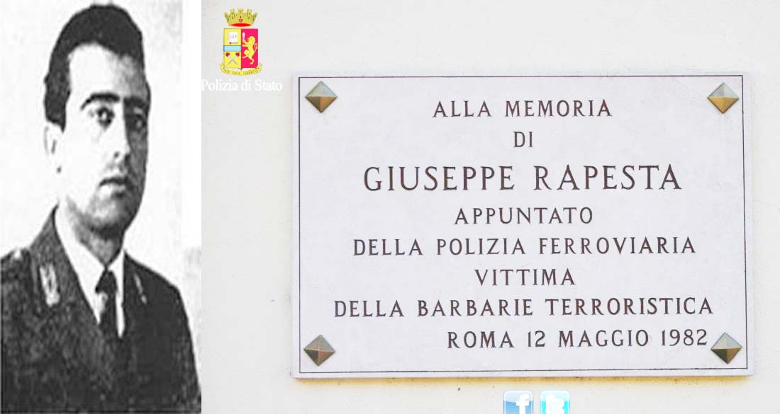 Photo of Ricordato l'assassinio dell'Appuntato della Polizia Ferroviaria Giuseppe Rapesta