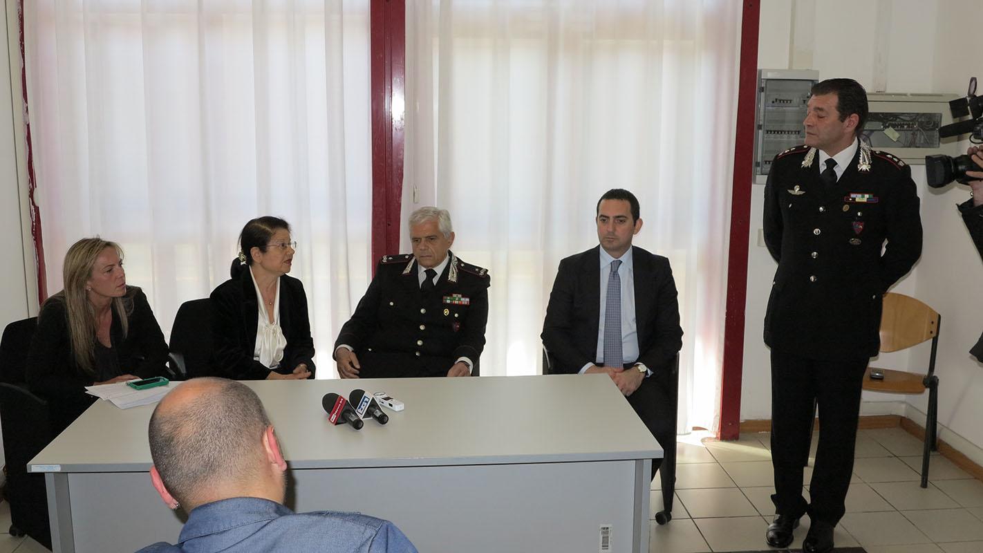 """Photo of Presentata dai Carabinieri del Racis di Roma, la """"Sala Lanzarote"""" per le audizioni protette dei minori"""