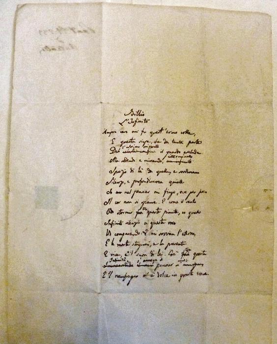 Photo of Manoscritto 'Infinito' va all'asta