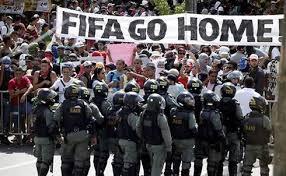 Photo of Mondiali Brasile 2014. Tafferugli prima della partita inaugurale. Ferite due giornaliste della Cnn